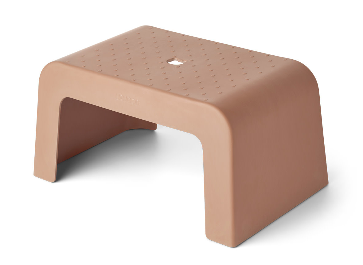 Ulla step stool terracotta-1