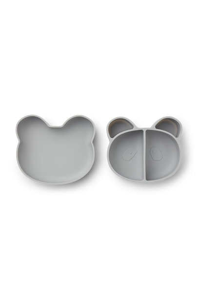 Vita lunch box panda dumbo grey