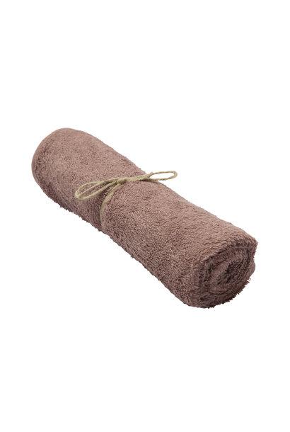 Handdoek mellow mauve