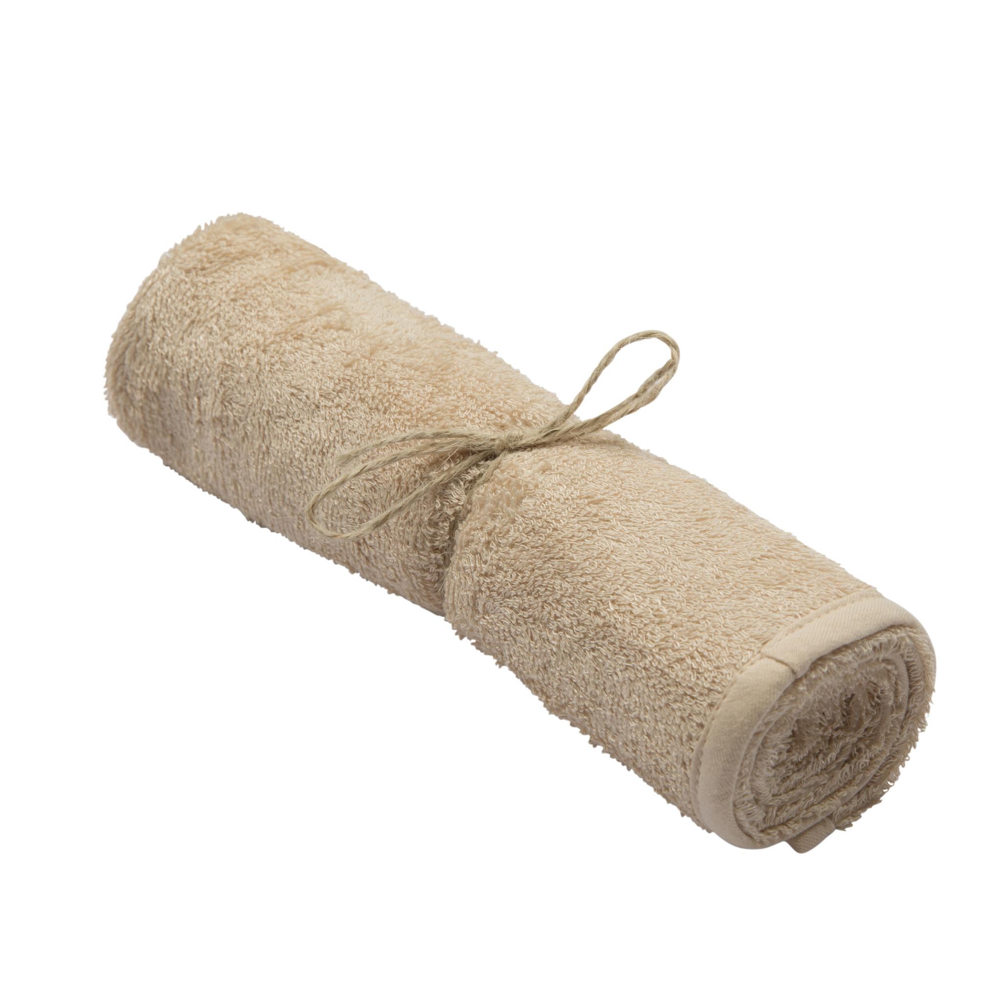 Handdoek frosted almond-2