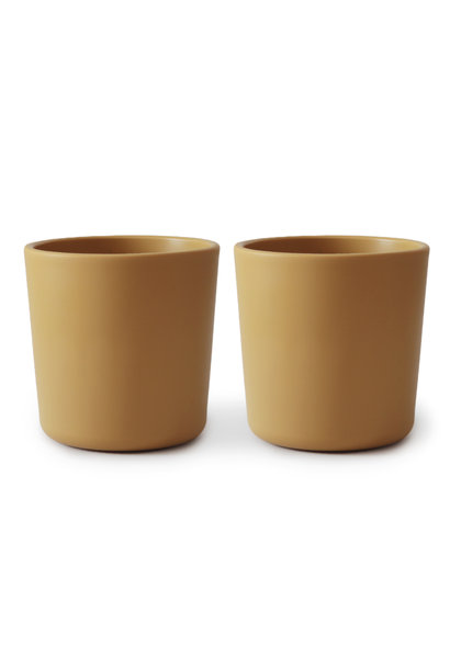 Cup 2 pack mosterd