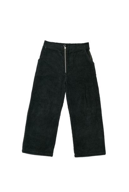 Corduroy trousers green