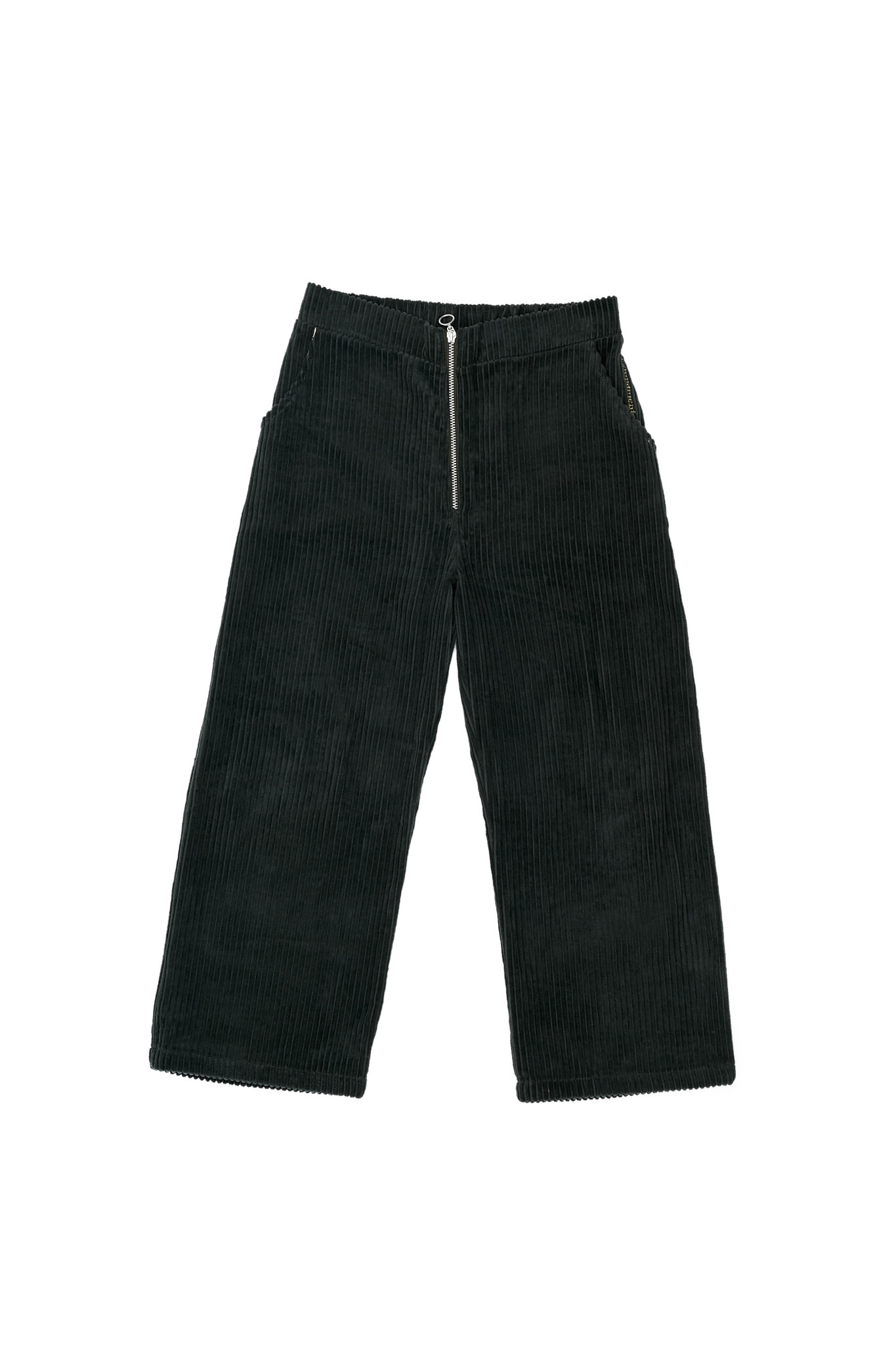 Corduroy trousers green-1