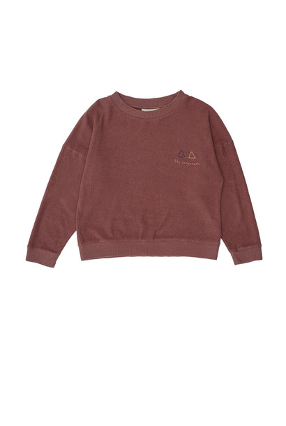Logo sweatshirt red