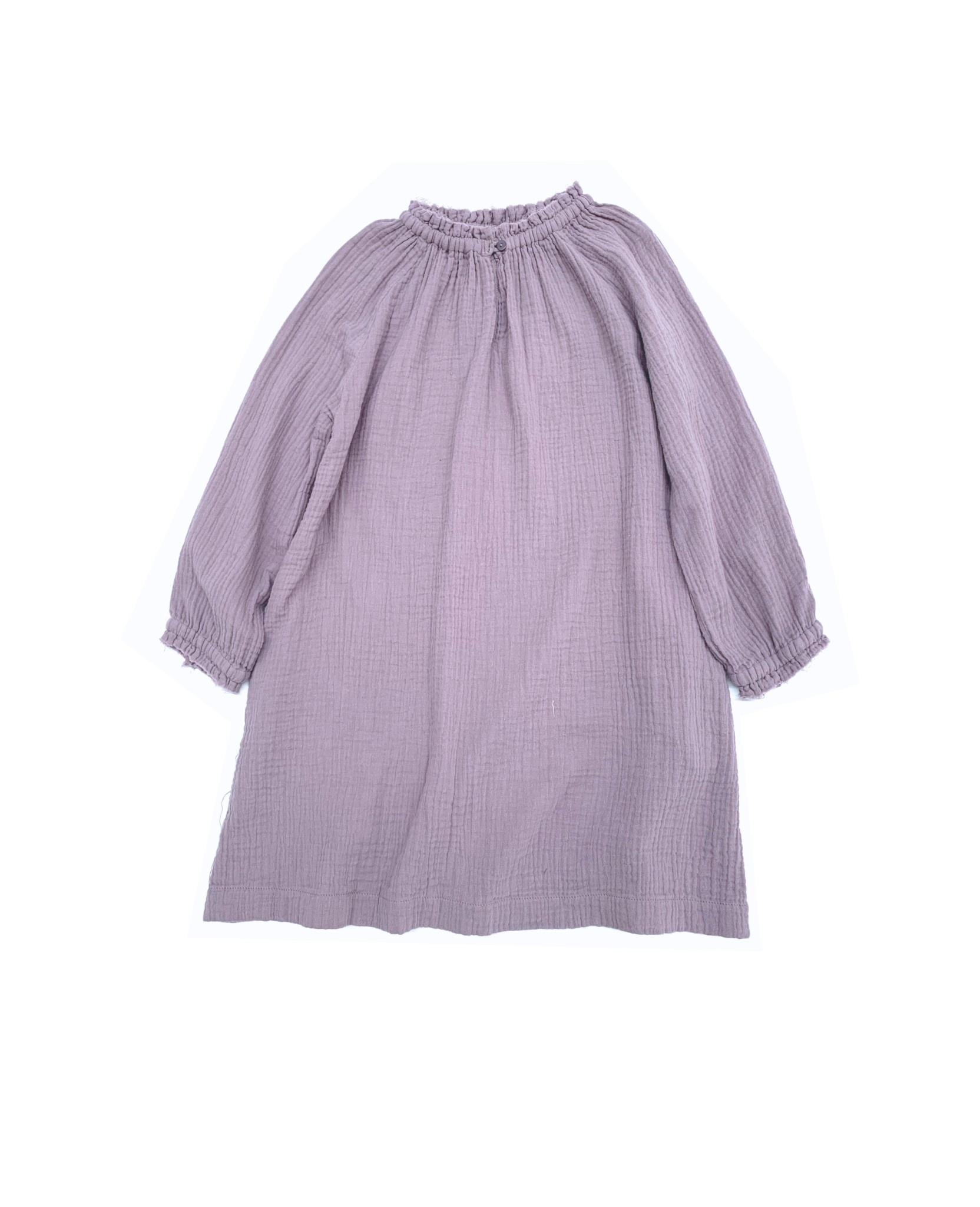 Crinkle baby wide dress lavender-1