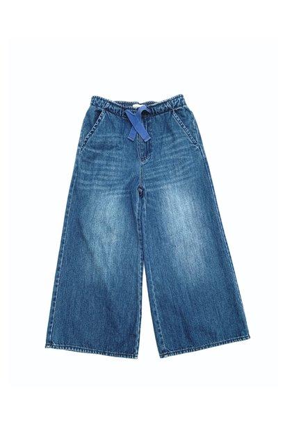 Denim baby trousers blue denim