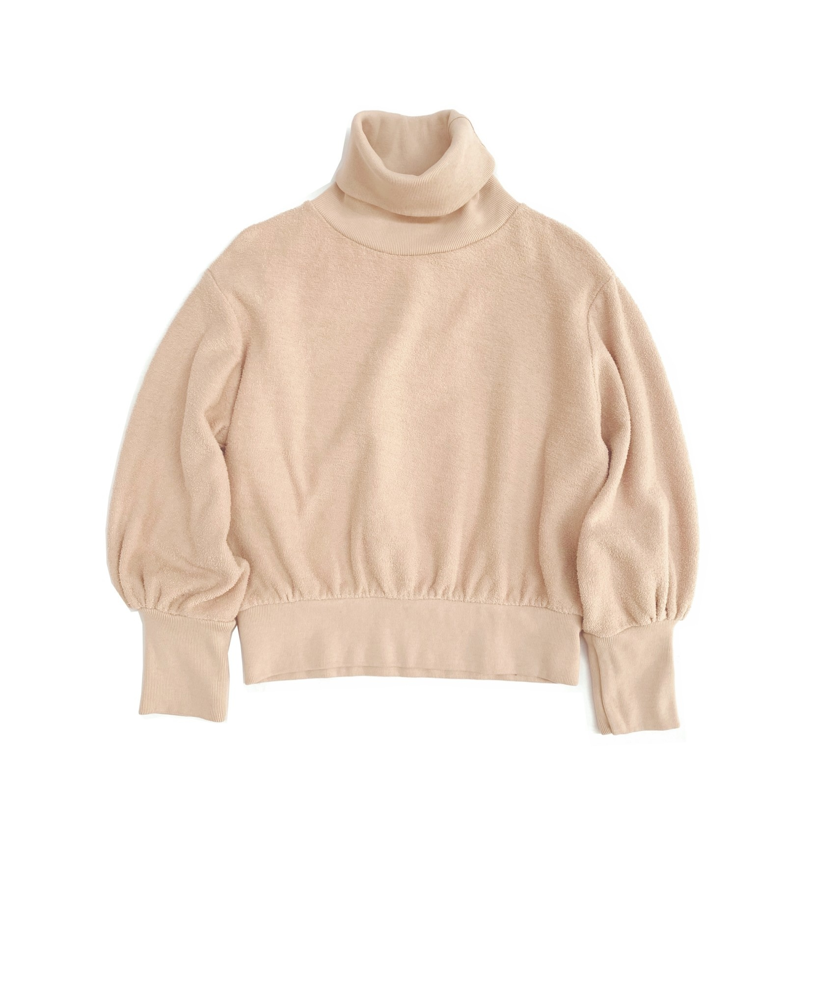 Terry collsweater natural-1