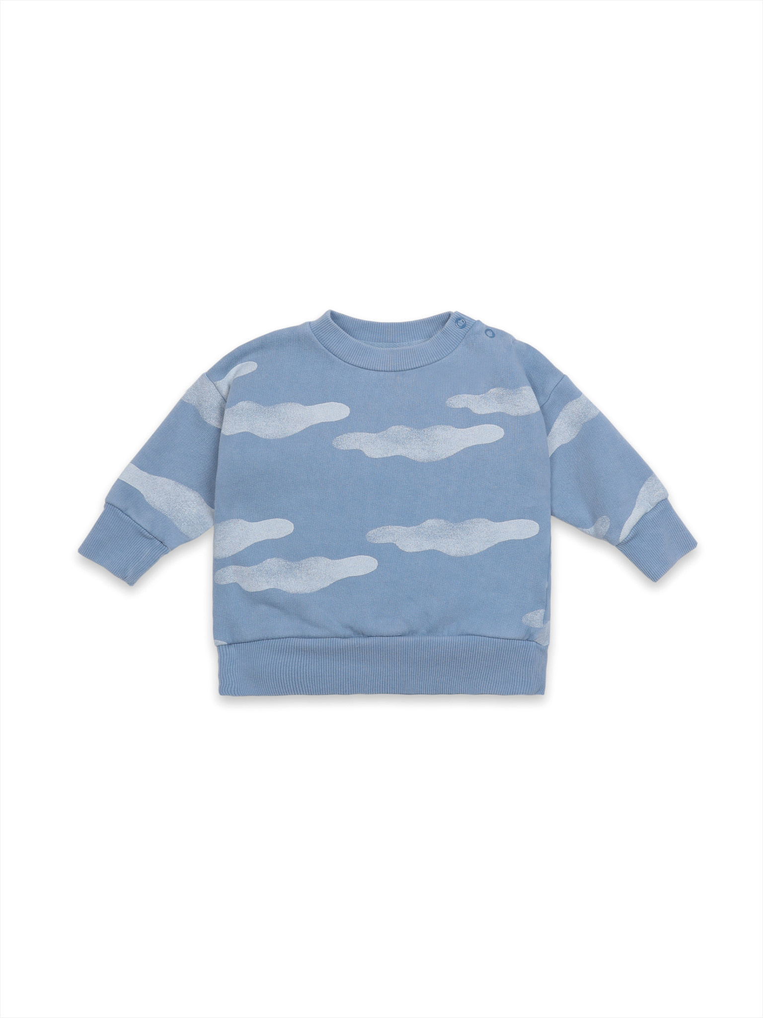 Clouds all over sweatshirt-1