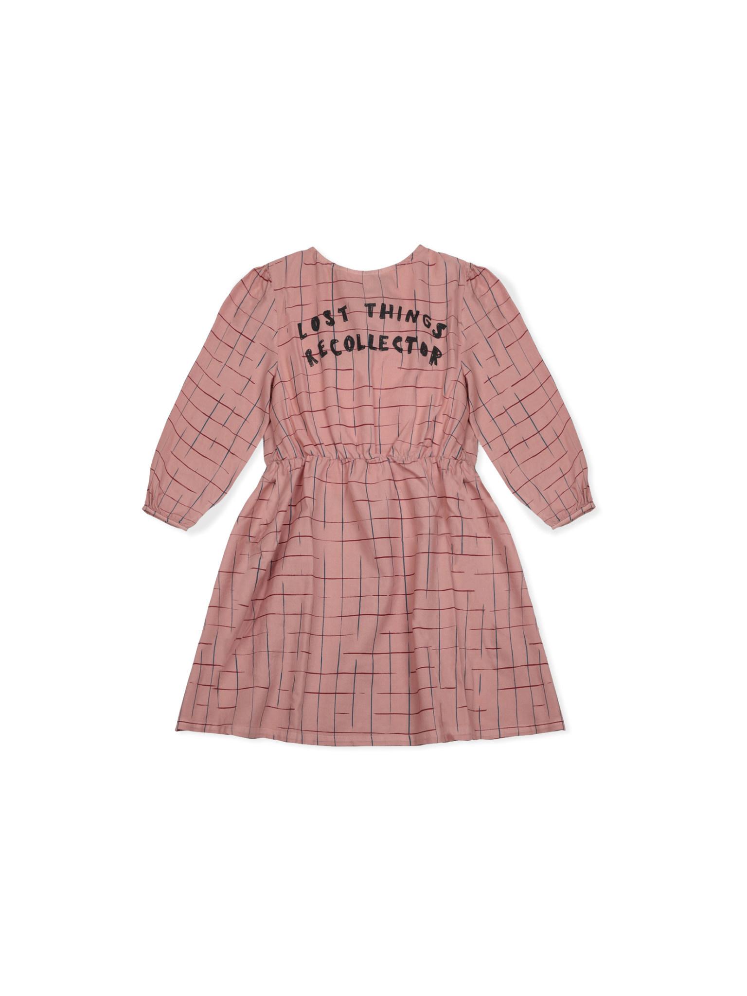 Grid woven dress-1