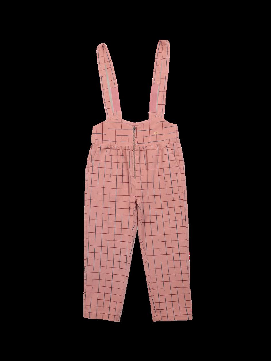Grid braces pants teens-1