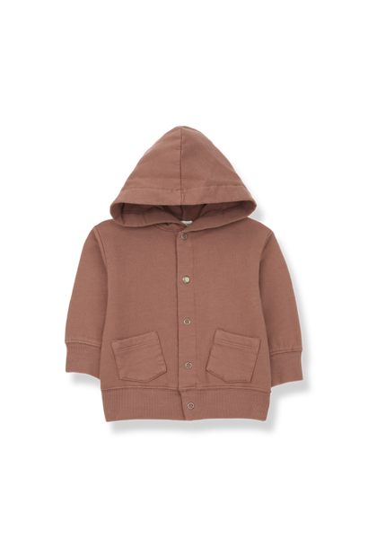 Boi hood jacket toffee
