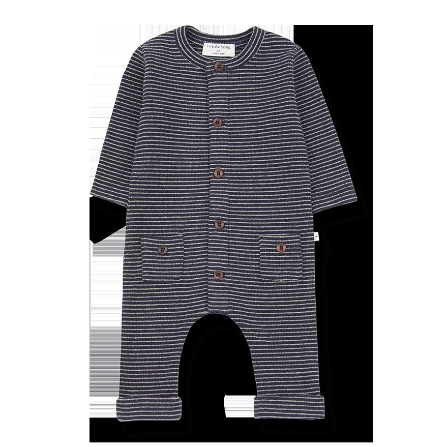 Hudson jumpsuit blue notte/beige-1