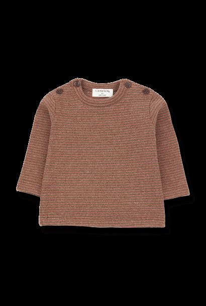 Jasper t-shirt toffee/terrau