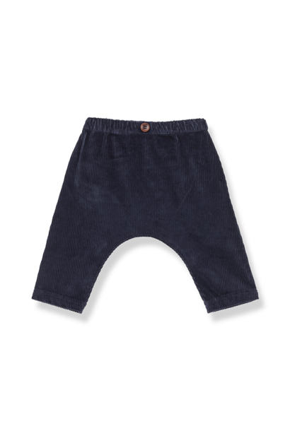 Molina kids baggy pants blue notte
