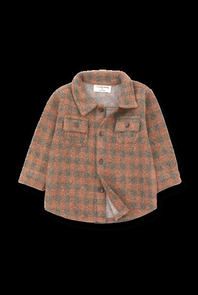 Pal shirt toffee/terrau kids