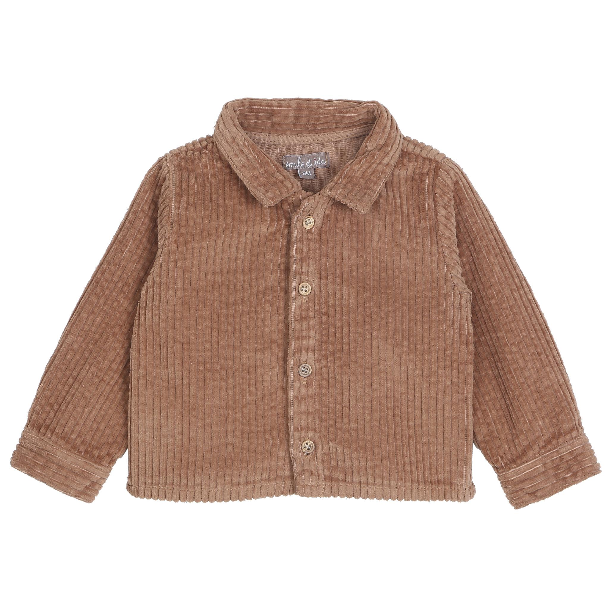 Jacket marron glace-1