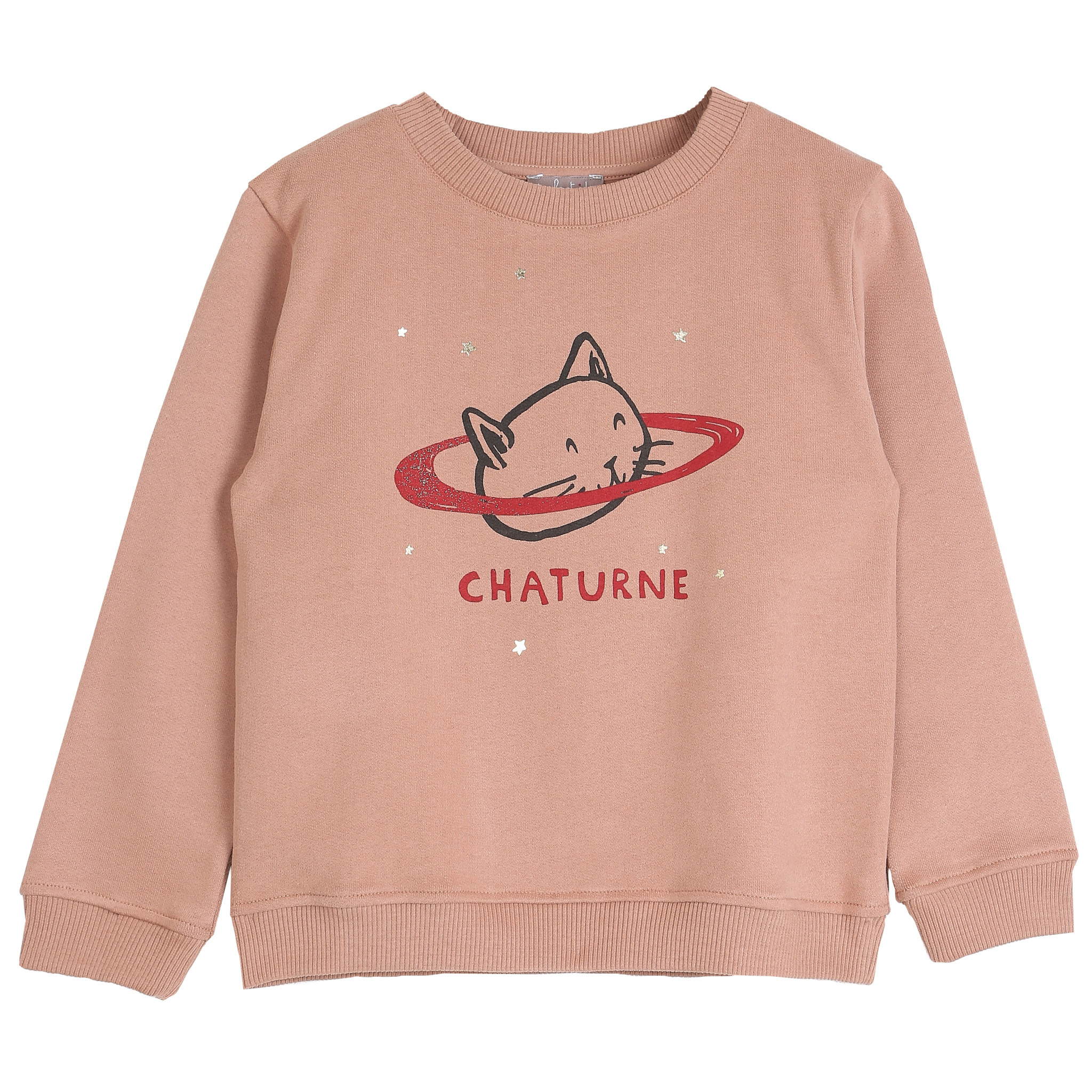 Sweatshirt marron glace chaturn-1