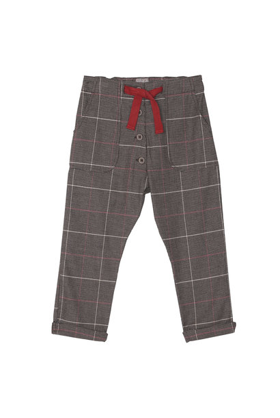 Trousers carreaux