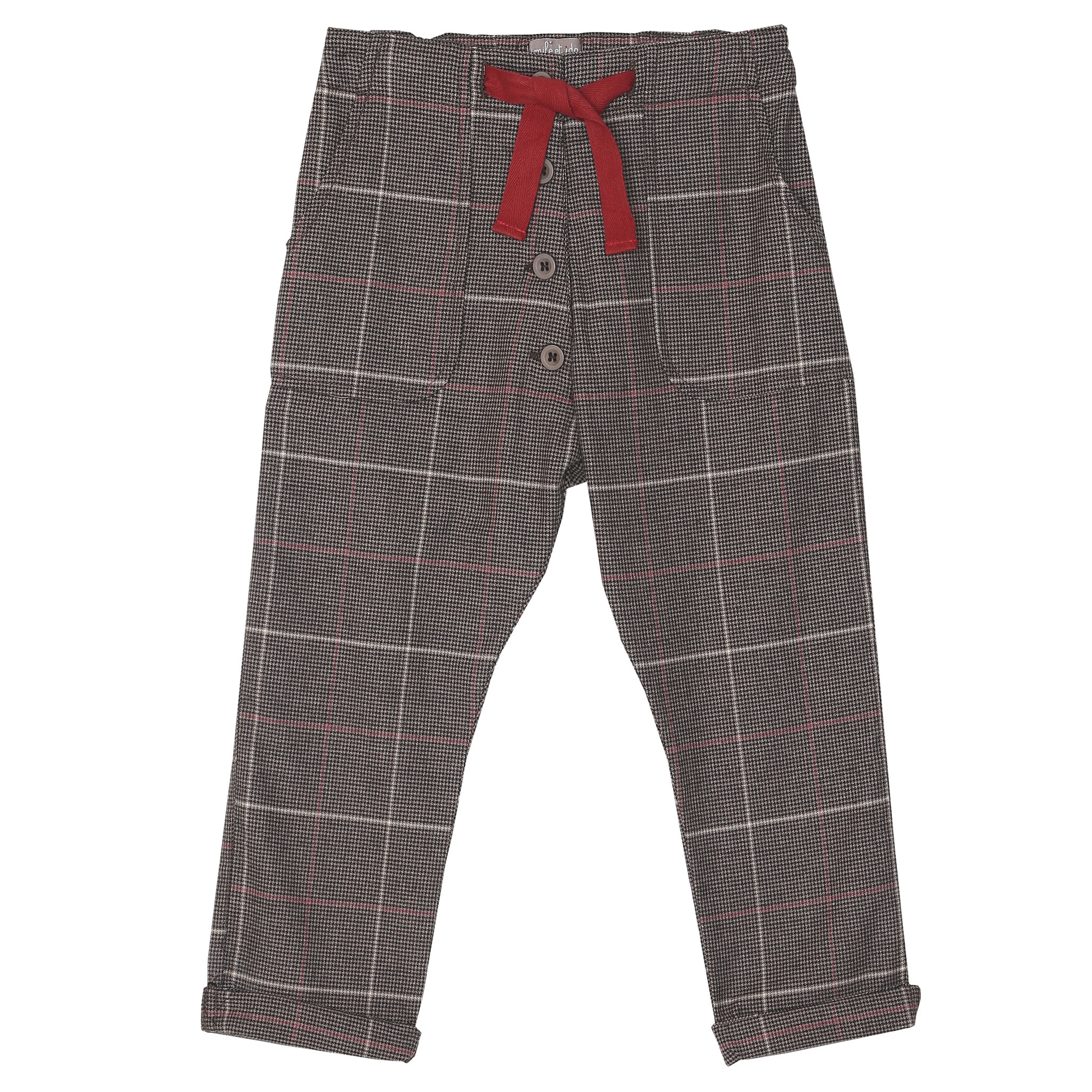 Trousers carreaux-1