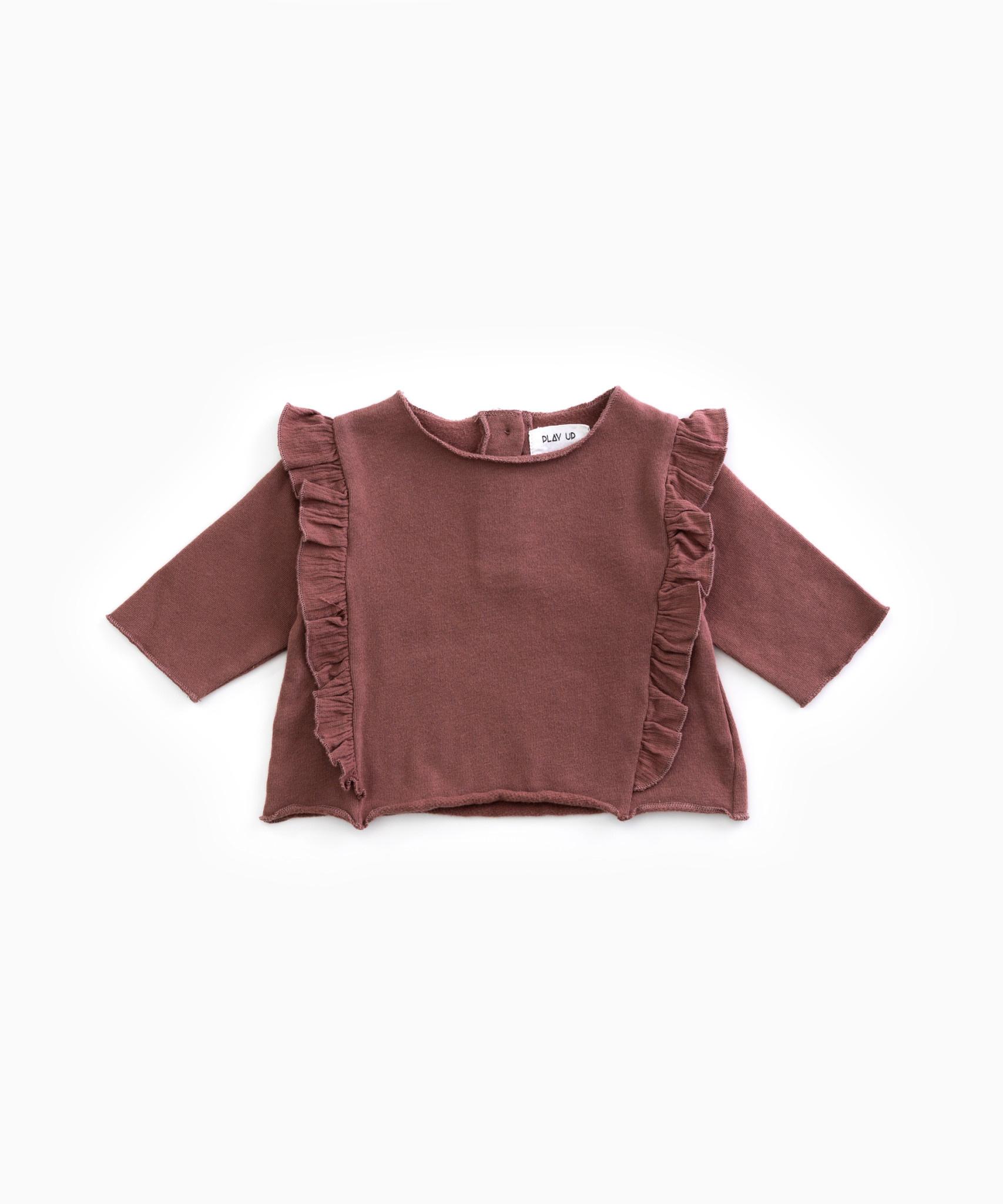 Fleece sweater-1