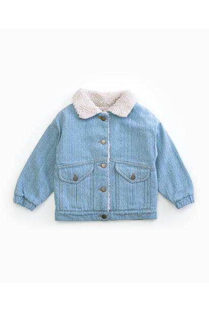 Recycled denim jacket