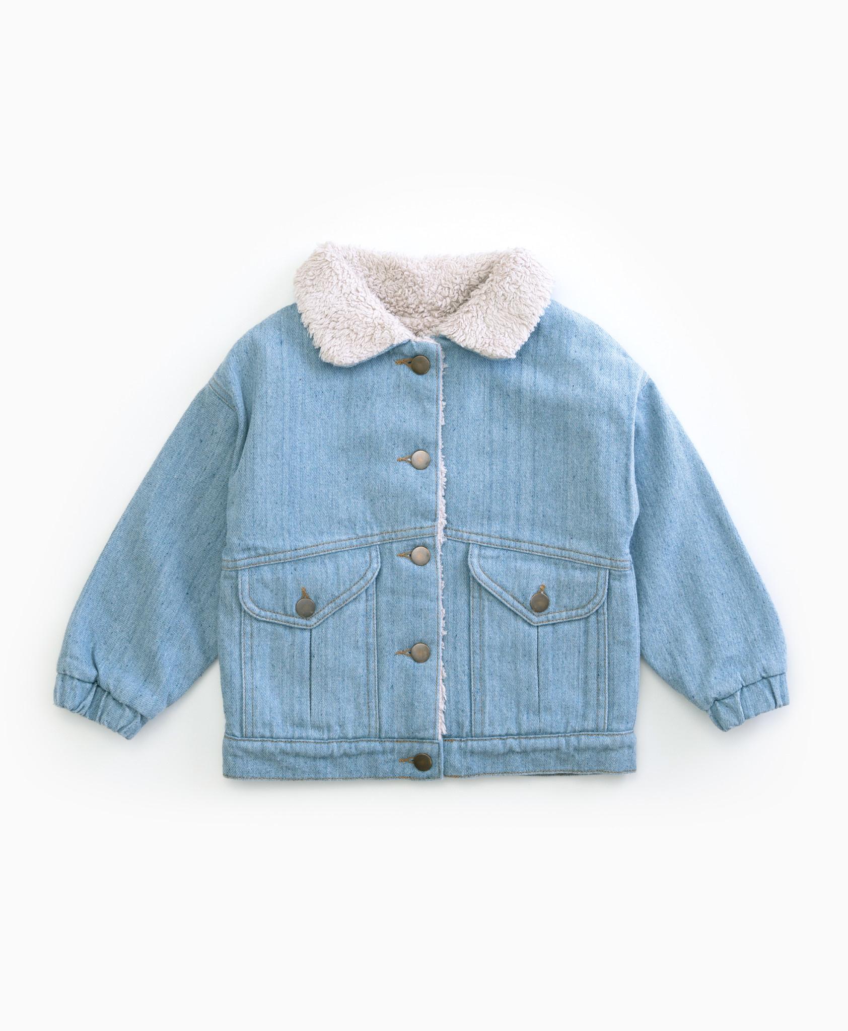Recycled denim jacket-1