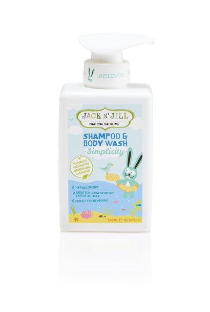 Jack n' Jill simplicity shampoo & body wash
