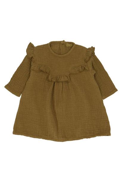 Kristi bronze dress