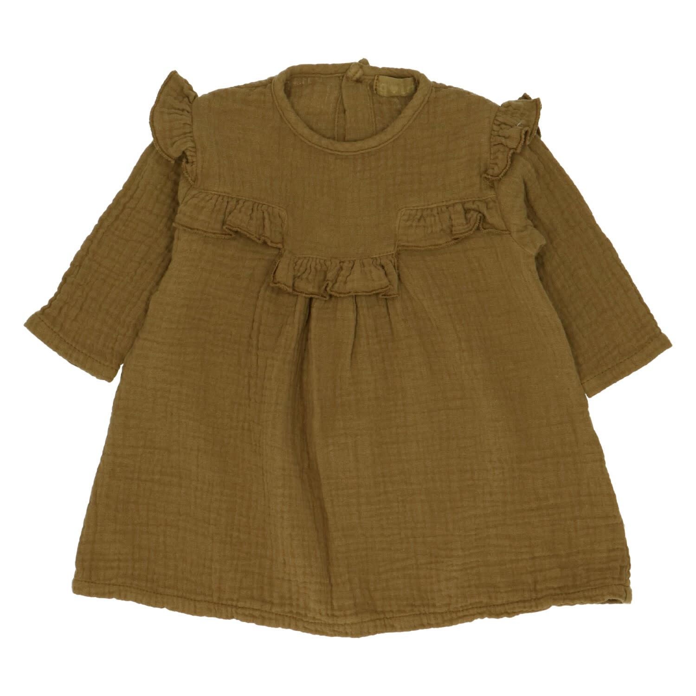 Kristi bronze dress kids-1