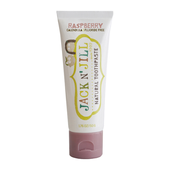 Jack n' Jill natural toothpaste organic raspberry-1