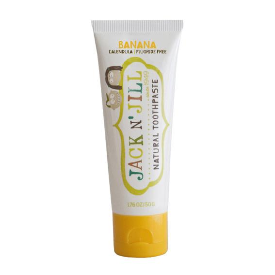 Jack n' Jill natural toothpaste organic banana-1