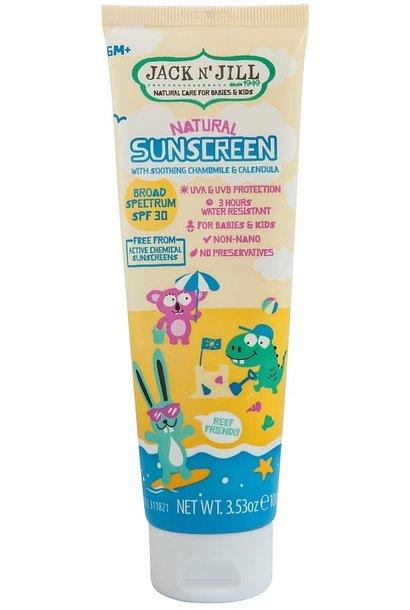 Jack n' Jill natural sunscreen SPF30