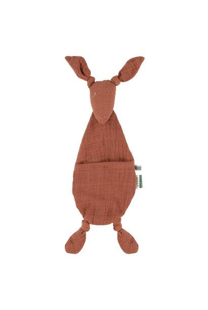 Fopspeendoekje kangoeroe bliss rust