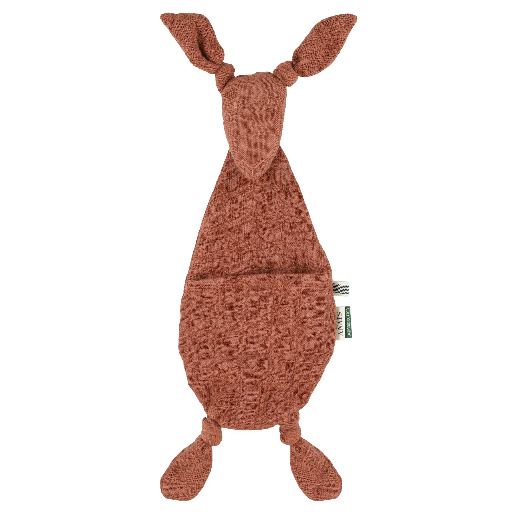 Fopspeendoekje kangoeroe bliss rust-1