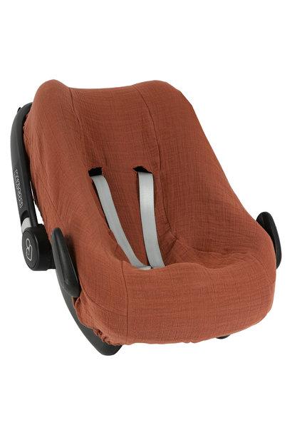 Hoes autostoel MC Pebble / Rock bliss rust