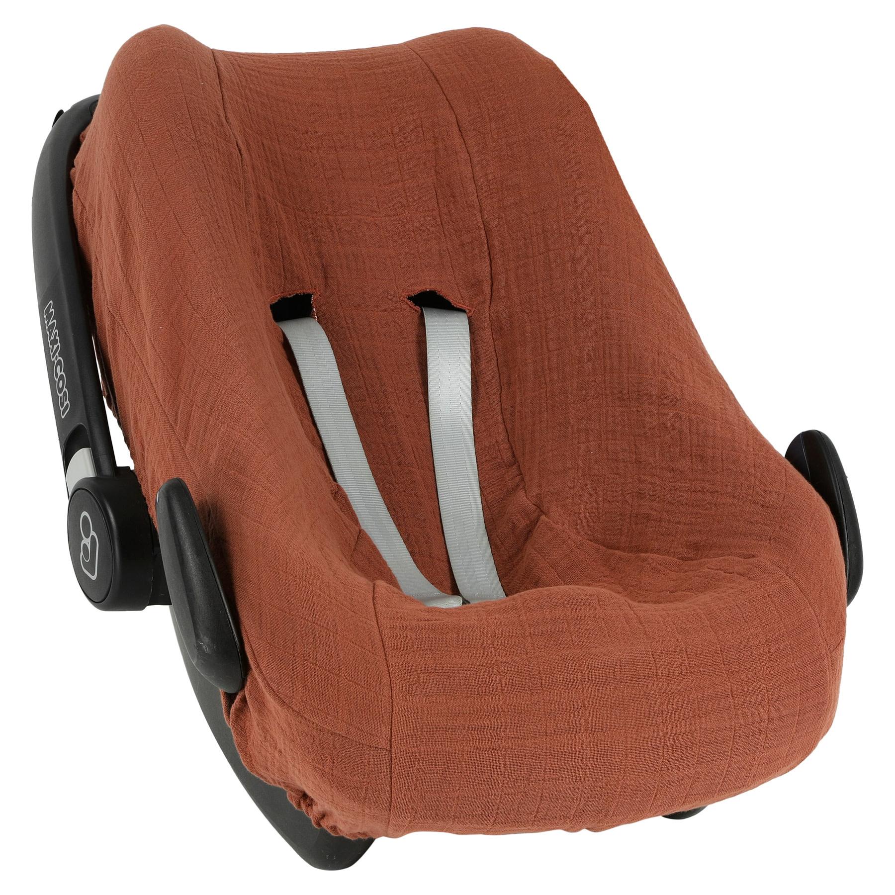 Hoes autostoel MC Pebble / Rock bliss rust-1