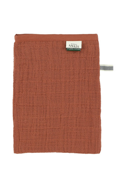 Set van 2 tetra washandjes bliss rust