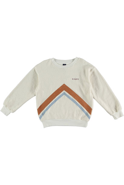 Sweatshirt mountains ecru teens