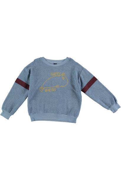 Sweatshirt walrus arctic blue