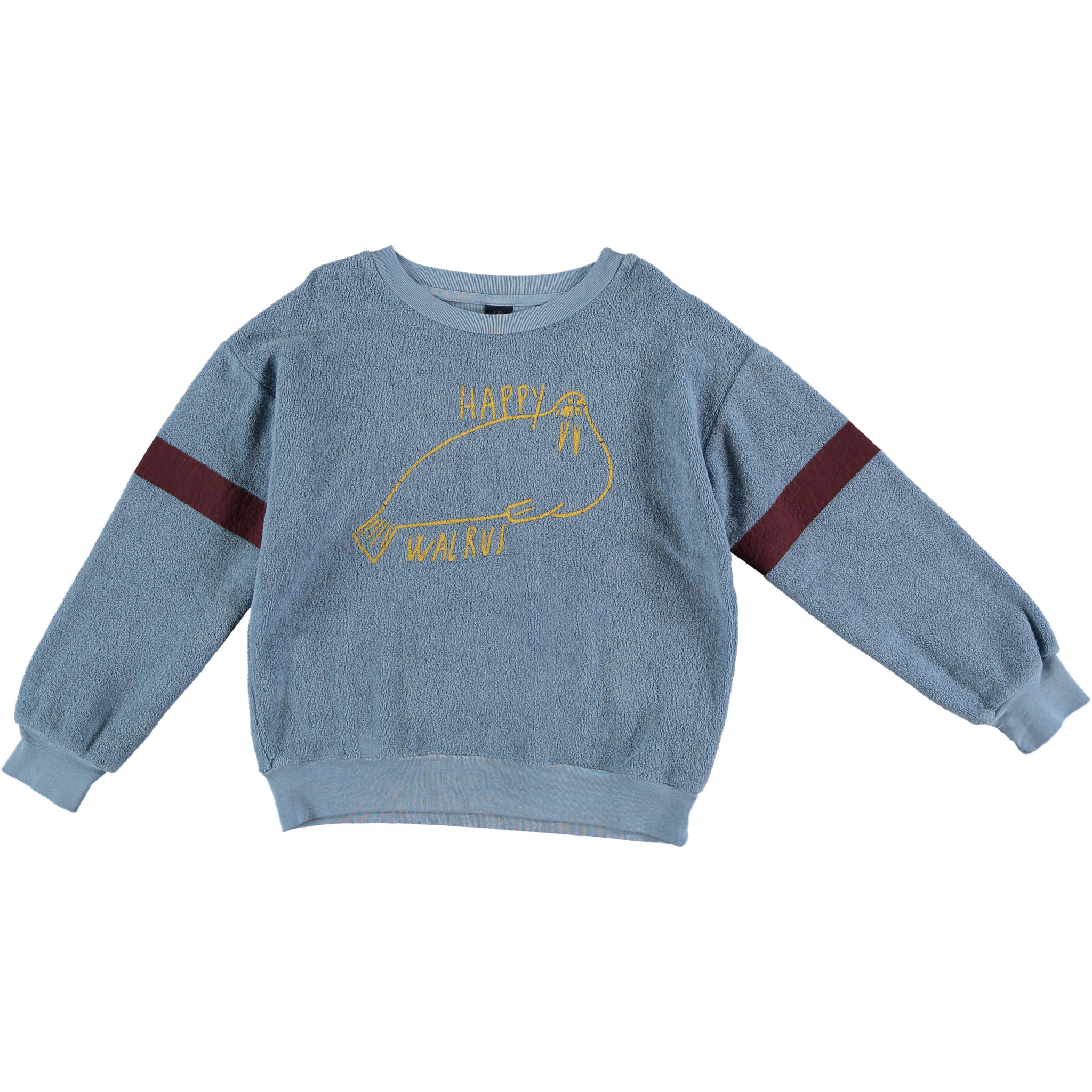 Sweatshirt walrus arctic blue-1