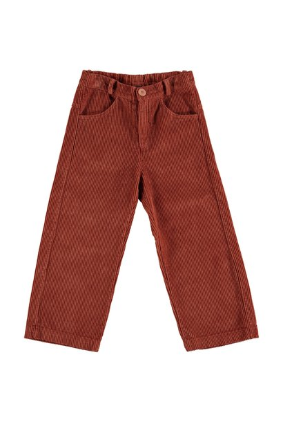 Trousers corduroy everyday rust teens
