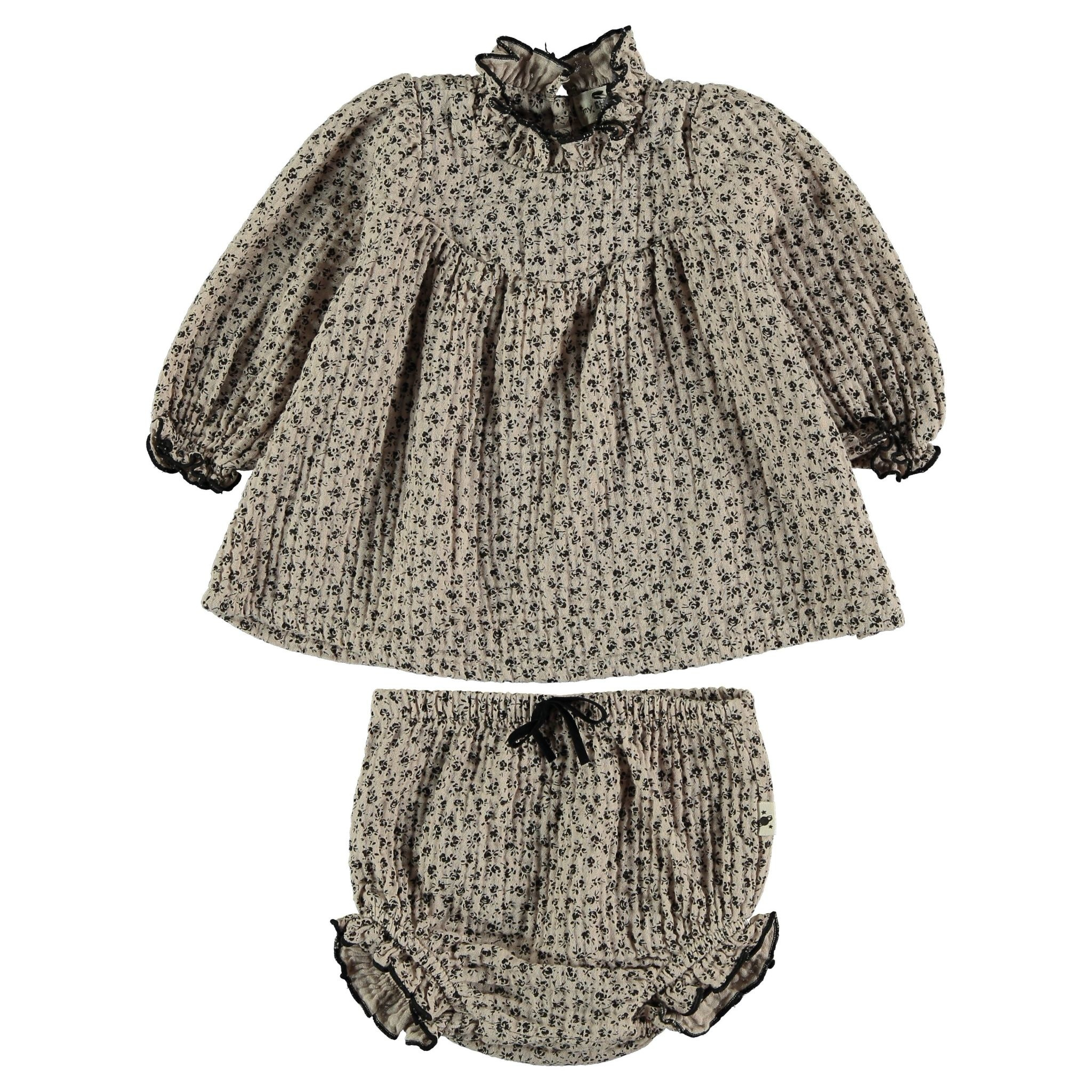 Blouse baby organic liberty beige-1