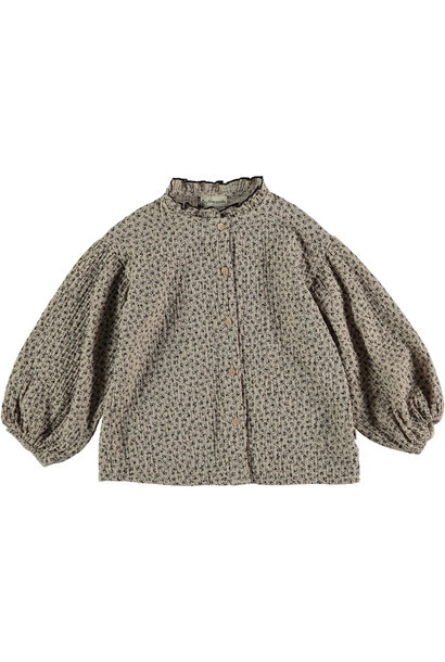 Blouse kids organic liberty beige