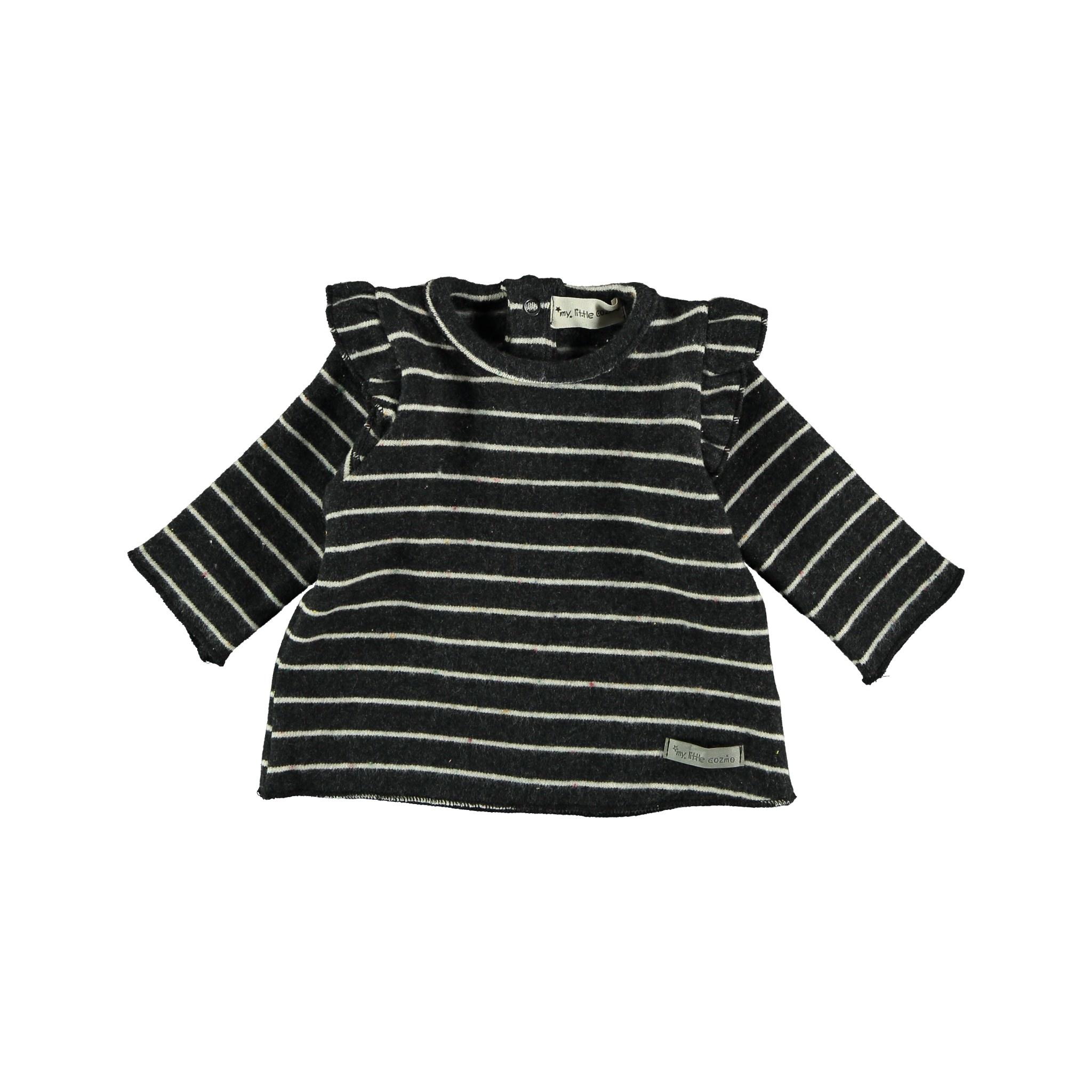 Jersey baby premium stars dark grey-1