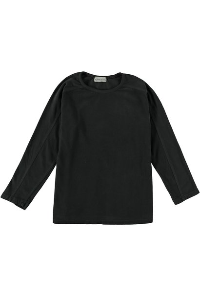 T-shirt kids organic basic dark grey
