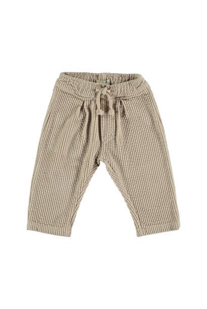 Trousers baby corduroy beige