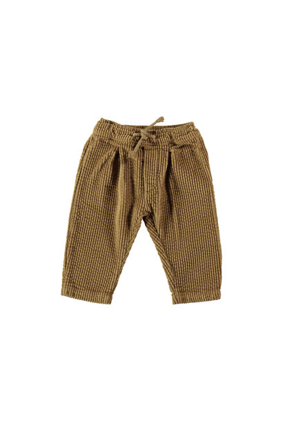 Trousers baby corduroy camel