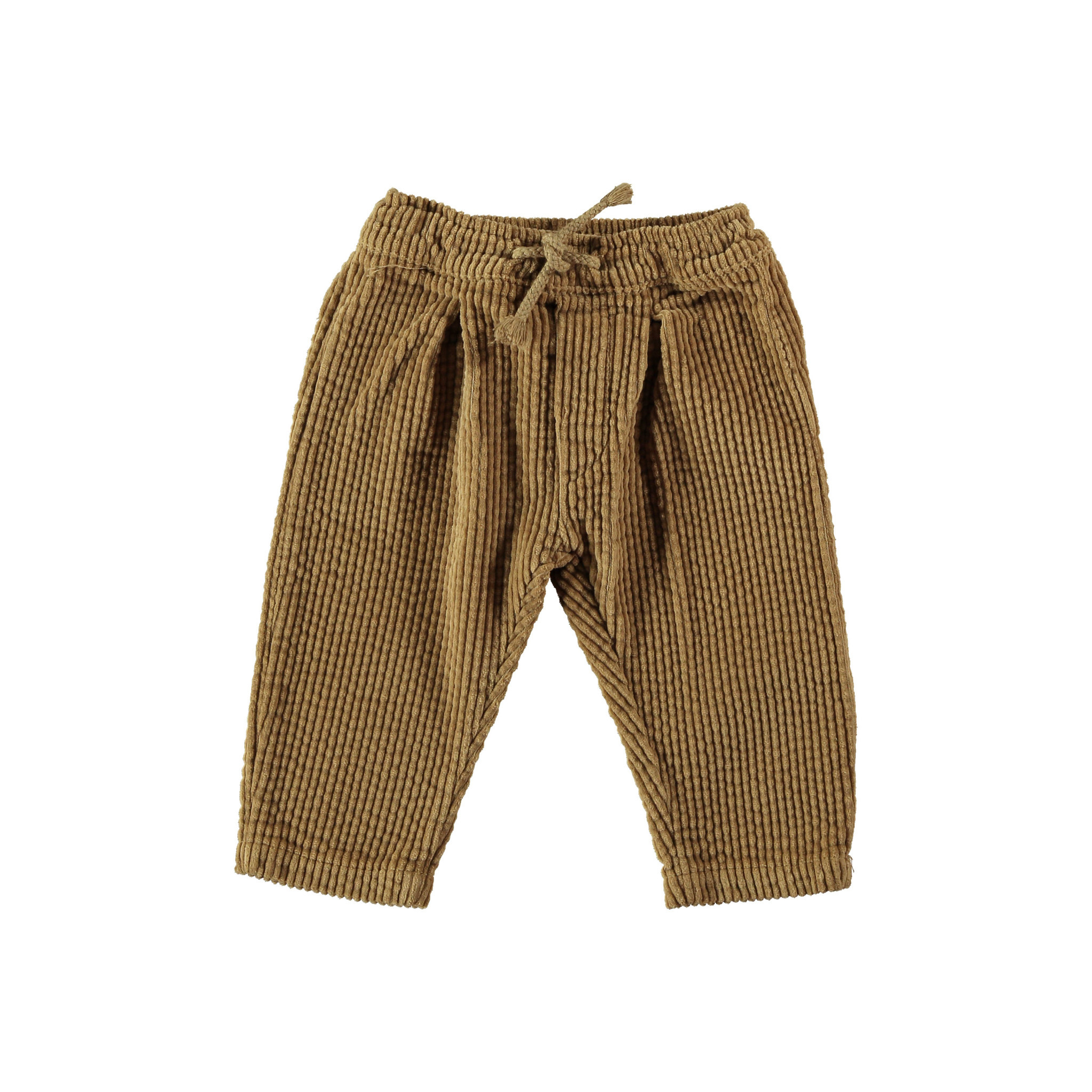 Trousers baby corduroy camel-1