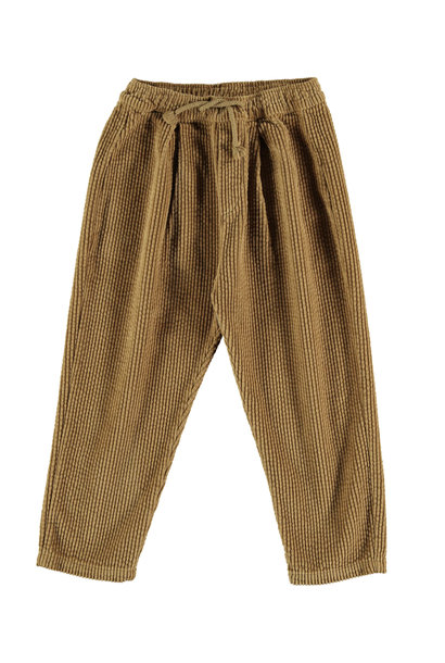 Trousers kids corduroy camel
