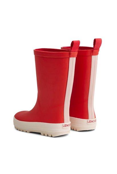 River rain boot apple red